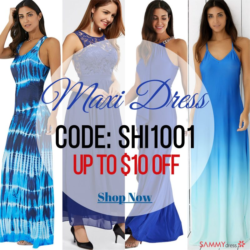 Maxi Dress Sale Sammydress