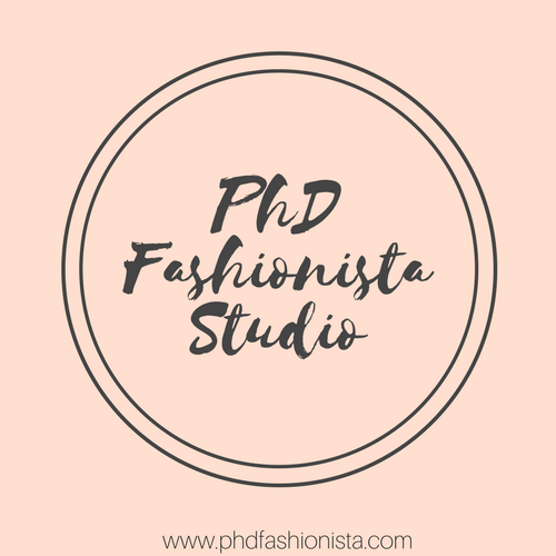 PhD Fashionista Studio Logo