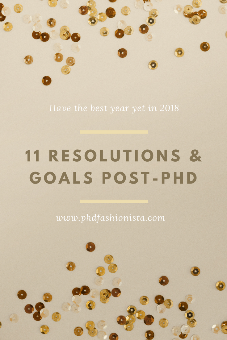 New Years Resolutions and Goals