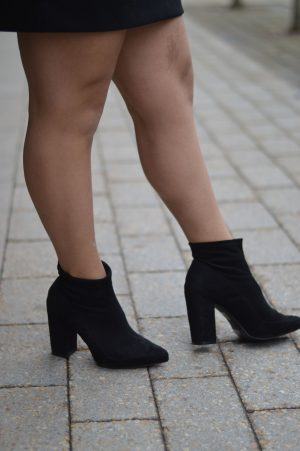 So Chic - weekend wear - heel boots forever 21