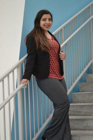PhD Fashionista conference fashion blazer